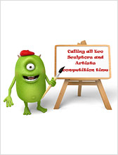West Sussex Eco Beast Sculpture competition for schools, nurseries and children's groups