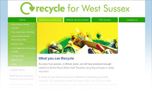 Recycle for West Sussex