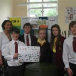 Students recycling project
