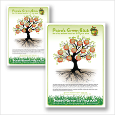 Pedro's Green Club posters