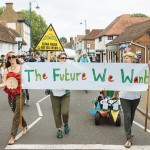 'The Future We Want' Billingshurst Carnival procession