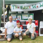 The Cort family sharing 'The Future We Want' at Billingshurst Show