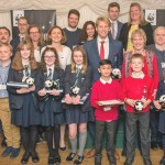 Winners of WWF 'The Future We Want' Earth Hour Awards at Westminster Palace