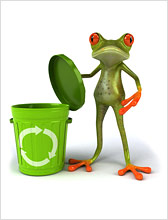 Learn how to divert landfill waste into a recycling scheme and raise money for a good cause