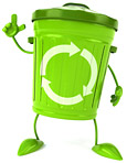 Sussex Green Living recycling bin