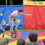 Outdoor play for children - Over the Moon festival