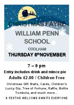 William Penn Xmas fayre