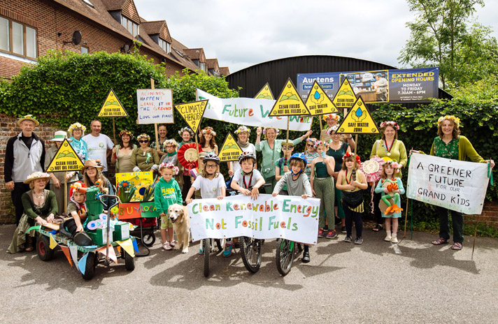 Families join SGL carnival procession