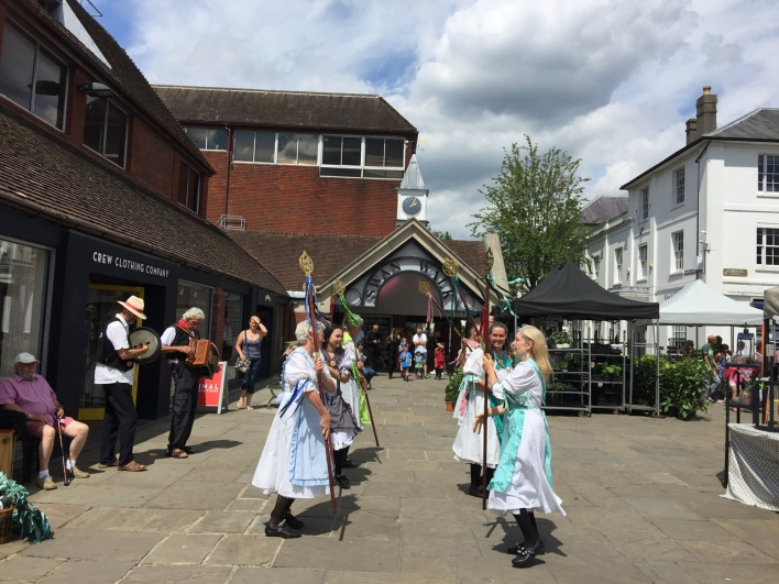 Horsham based English folk dancers Magog