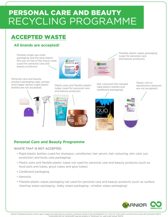 Carex recycling poster