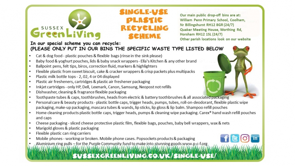 SGL recycling flyer April 2021